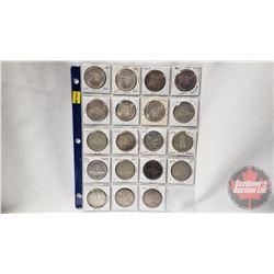 Canada Silver Dollars (19): 1967; 1967; 1967; 1967; 1966; 1964; 1964; 1961; 1960; 1960; 1959; 1958;