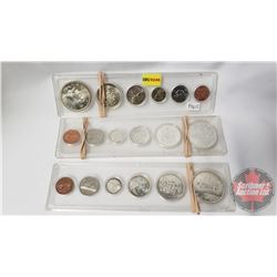 Canada Year Set - Hard Shell Case (3): 1965