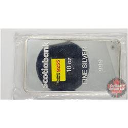 Scotiabank 10oz Fine Silver 999