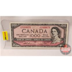 Canada $1000 Bill 1954 : Thiessen/Crow AK2103673