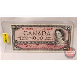 Canada $1000 Bill 1954 : Thiessen/Crow AK2103673