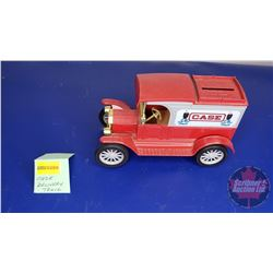COIN BANK: CASE Delivery Truck