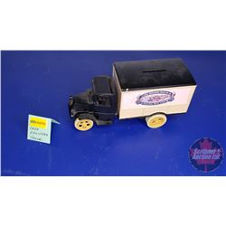 COIN BANK: J.I. Case Threshing Machine Co. Truck