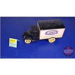 COIN BANK: J.I. Case Threshing Machine Co. Truck