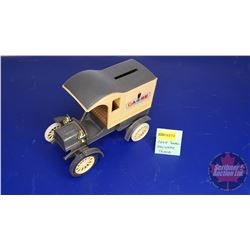 COIN BANK: CASE Small Delivery Truck