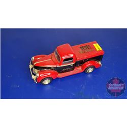 """COIN BANK: New Holland Truck """"100"""" Red"""