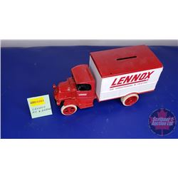 COIN BANK: Lennox Air Conditioning & Heating Truck