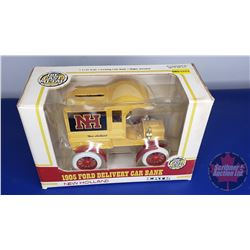 "COIN BANK: 1905 Ford Delivery Car ""New Holland"""