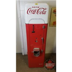 "Vendo 44 Coca-Cola Vending Machine - Fridge Only - Great Restoration Project! 58""H x 16""W x 16""D (No"