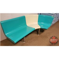 "Retro Bowling Alley Bench - Curved (75"" x 33"")"