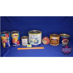 Breakfast Tin Combo (7): Incl. Sun Rype, Rogers, Sweet Milk, Peanut Butter, Jam, Cheese