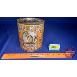 "Squirrel Peanut Butter Tin 5-1/2"" x 5"""