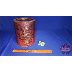 "Royal Shield Cayenne Tin (9""H)"