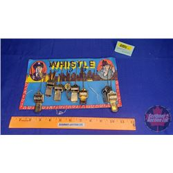 "Store Display Card ""Whistles"""