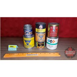Paint Tins (7): Incl. Nepto-Lac, McMurtry, Gaton, etc (All Full)