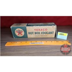 "Texaco ""Hot Box Coolant"" (Full) (For Railway Use) (9-1/2""W x 3""H x 2""D)"