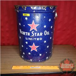 "North Star Oil Limited 5gal Pail (15-1/2""H)"