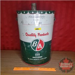 "B-A Pail 5gal w/Spout (Pail Only Height 16"")"