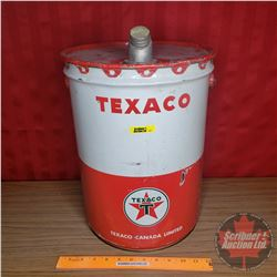 "Texaco 5gal Pail w/Spout (Pail Only Height 15-1/2"")"