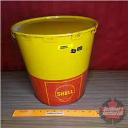 "Shell Grease Pail (11-1/2""H)"