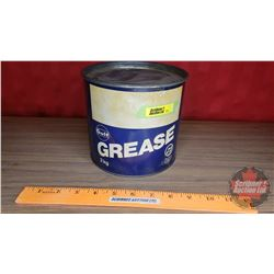 "Gulf Grease Tin (Partial Full) (5-1/2""H x 6""Dia)"