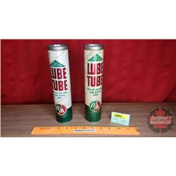 "B-A ""Lube Tube"" (2): (9-1/4""H x 2""Dia) (1Empty 1 Full)"