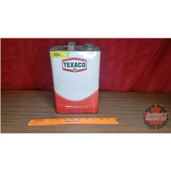 "Texaco ""Oil 68"" Tin (10""H x 6-1/2""W x 4-1/8""D) (Empty)"