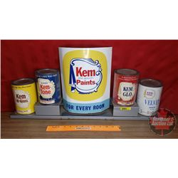 "Kem ""Fine Quality Paints"" Store Display Sign (12-1/2""H x 27-1/2""W x 5""D)"