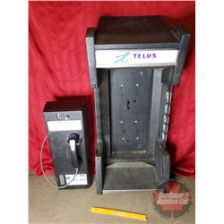 "Telus Payphone & Housing (41""H x 17-1/2""W x 13""D)"