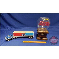 Pepsi Combo: Gumball Dispenser & Tonka Truck