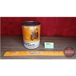 "Harley Davidson Pre-Luxe Motorcycle Oil Tin (Cardboard) (5-1/2""H x 4""Dia)"