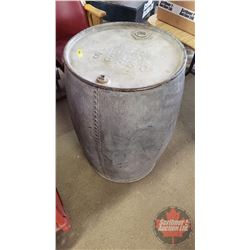 "Imperial Oil Co. Limited Gasoline Barrel ""3-14""  (33""H)"