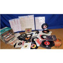 Box Lot: 45's & Juke Box Labels (16lbs)