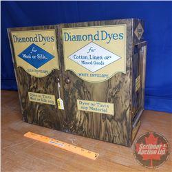 "Diamond Dyes Metal Cabinet w/Contents (16""H x 18-1/2""W x 6""D)"