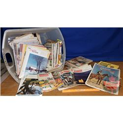 "Tote Lot - Magazines : ""Successful Farming"" & ""Country Guide"" (52lbs)"