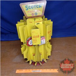 "Scotch Tape Metal Store Display (18""H)"