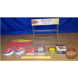 "Scotch Tape Wire Store Display (13""H x 14""W x 12""D)"