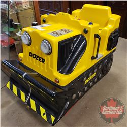 "Department Store / Carnival Kiddie Mechanical Ride ""Dozer"" Working! (Coin Mech is bypassed) (38""H x"