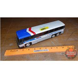 "Greyhound Toy Bus Coin Bank (3"" x 9-3/4"" x 2"")"
