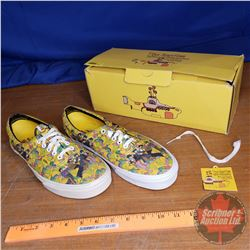 "Vans Shoes ""The Beatles Yellow Submarine"" (New/Old Stock in Box) (Size U.S. : Men's 9.5 or Ladies 11"