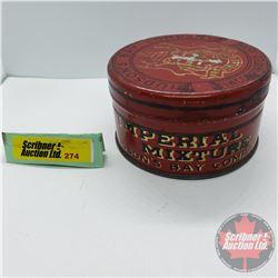 "Hudson's Bay Company Imperial Mixture Tobacco Tin (2""H x 3-1/4""Dia)"