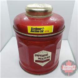 "Hudson's Bay Company Imperial Mixture Tobacco Tin (5-3/4""H x 4-3/8""Dia)"