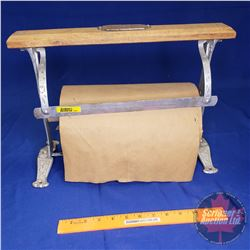 Kilgour Bros Counter Top General Store Brown Paper Dispenser/Cutter