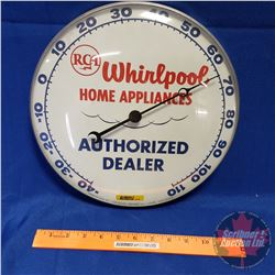 "RCA Thermometer ""Whirlpool Home Appliances"" ""Authorized Dealer"""