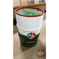 "B-A Oil Drum ""12-45"" (35""H x 22-1/2""Dia)"