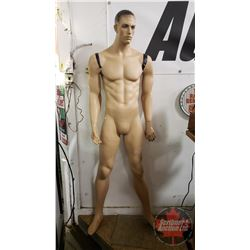 Vintage Male Store Mannequin (6ft)