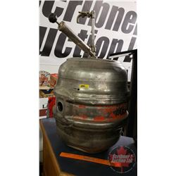 "Beer Keg ""Pabst Brewing"" (20""H)"