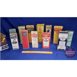 Tray Lot: Variety of Syrups, Tonics & Liniments
