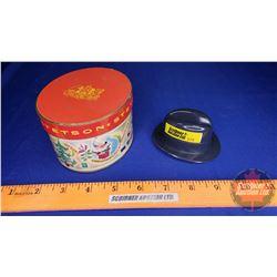 "Vintage Stetson Miniature Cowboy Hat - Promotional in Christmas Box (2-3/4""H)"
