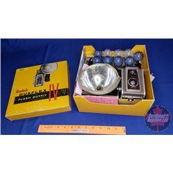 Kodak Duaflex Flash Outfit IV in Original Box